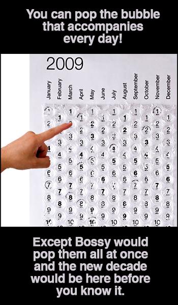 2009 Bubble Calendar