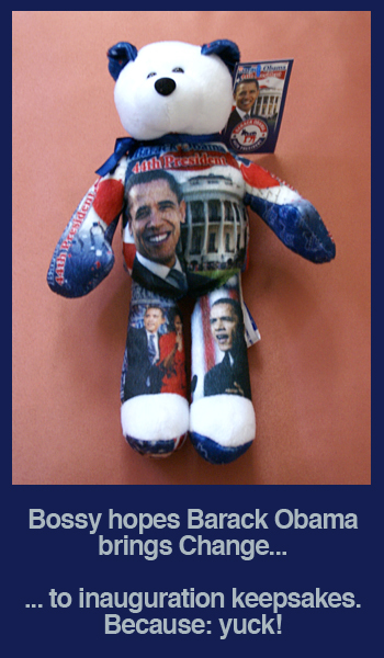 Barack Obama 44th President Bear