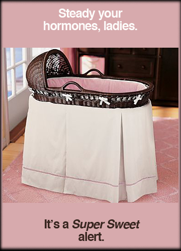 Bassinet & Chamois Bedding