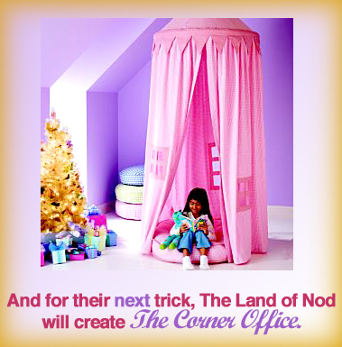 The Land of Nod Canopy Playhouse