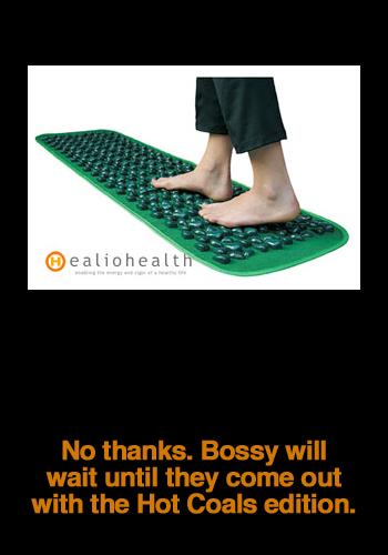 Foot Reflexology Chi Cobblestone Mat
