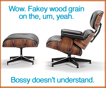 Eames® Lounge Chair & Ottoman.