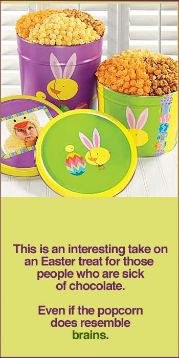 Easter Popcorn Tins