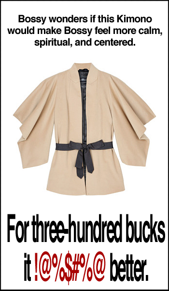 Wilson Kimono Jacket by Malene Birger