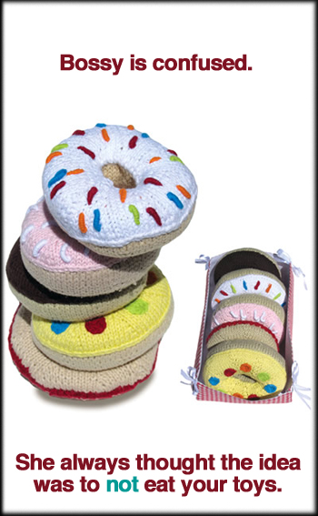 Knit Donuts For Babies