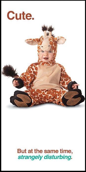 Li'l Giraffe Baby Costume