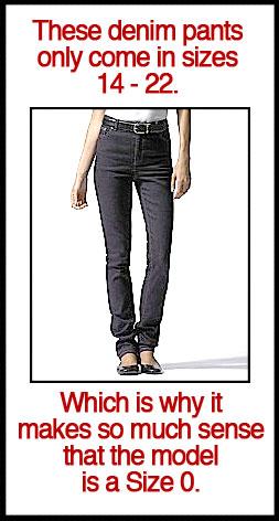 Lauren by Ralph Lauren Nolita Stretch Tanya Jeans. <i>Phew.</i>
