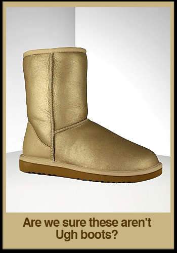 Short Metallic Uggs