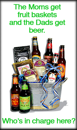 Father's Day Microbrew Beer Gift Basket