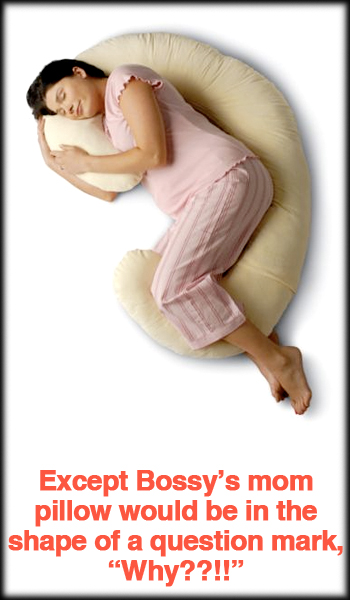 Mom Body Support Pillow