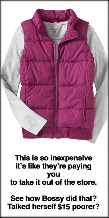 Women's Quilted Fleece-Lined Vest