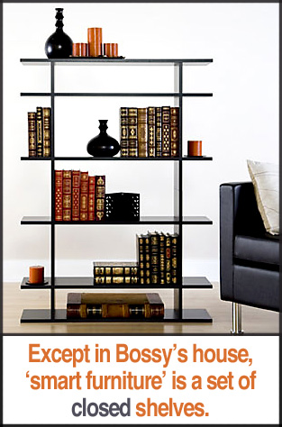 Smart Furniture's Classic Open Shelves.