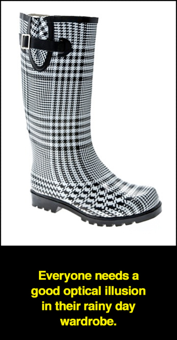 Nomad Puddles Plaid Rain Boot