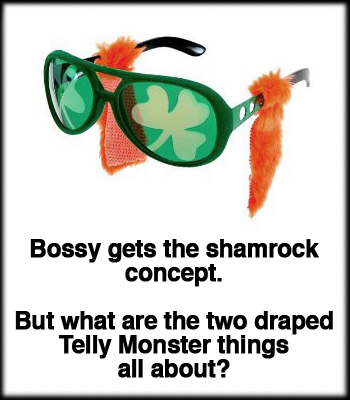 Shamrock 'N Rollers Glasses