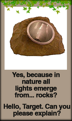 Solar Stone Light