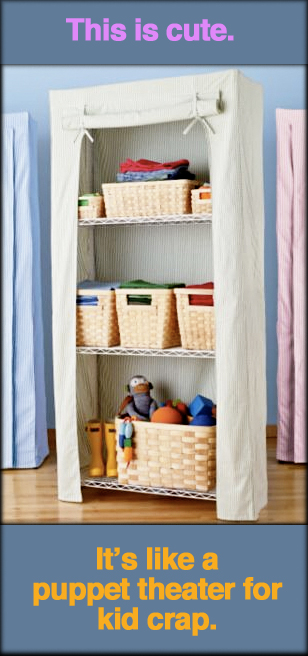 Undercover Shelf Unit Storage
