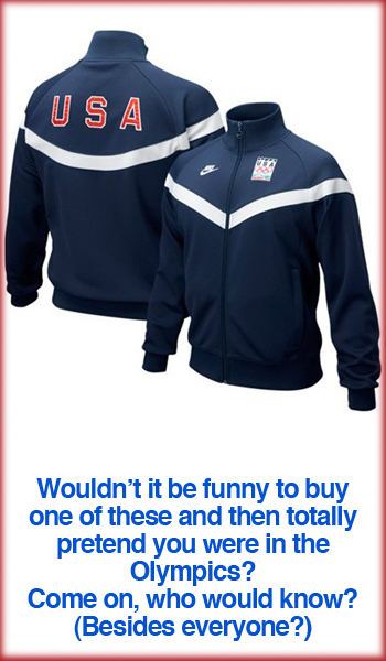 2010 Winter Olympics Team USA Track Jacket