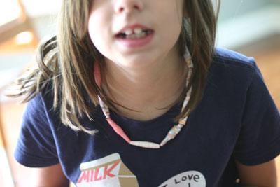 Paper Bead Necklaces