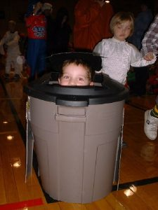 Halloween Costume Ideas I came across this garbage can ...
