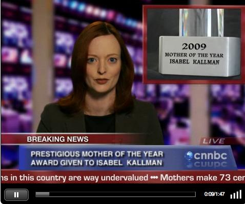 Moms Rising Video E-card screenshot