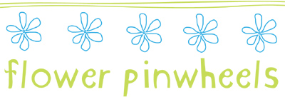 flower pinwheel logo