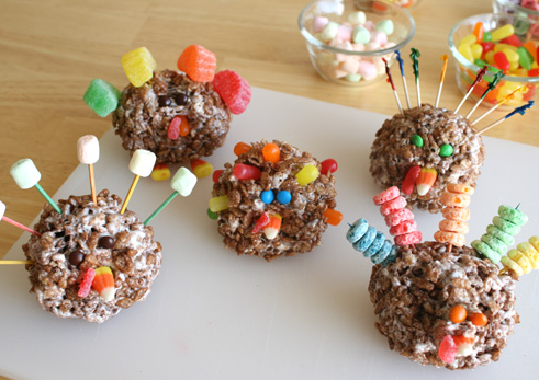 Rice Krispy Turkeys You'll Gobble Up