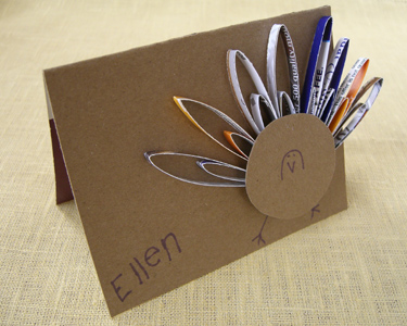 Thanksgiving Crafts using Recycled Materials