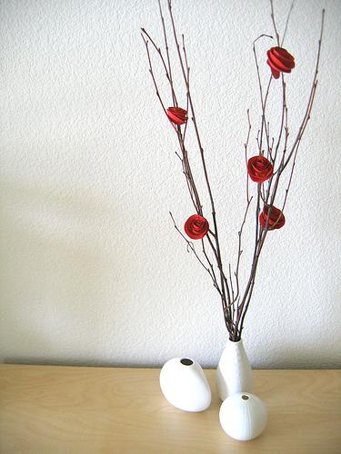 Paper Flower Valentine Bouquet Alpha Mom