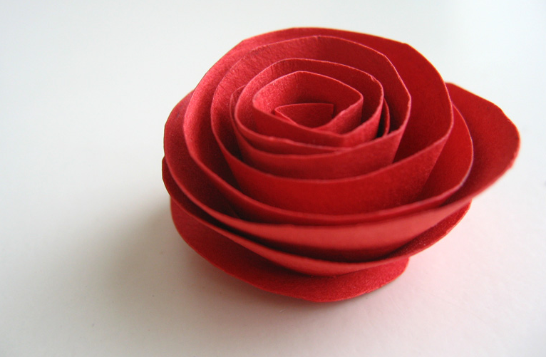 Paper Flower Valentine Bouquet Alpha Mom