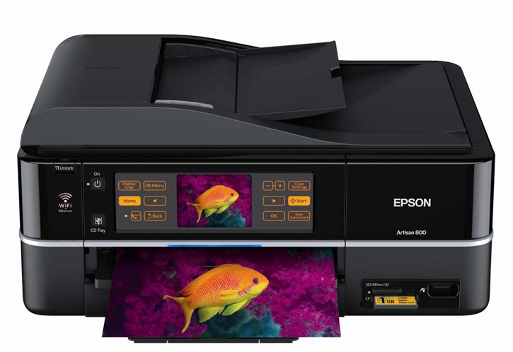 Epson Artisan 800 Printer Review