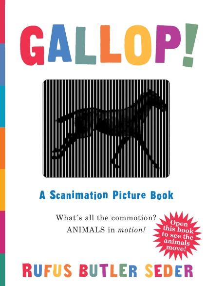 Gallop! a Scanimation Delight