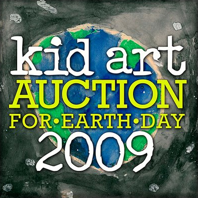 The Kid Art Auction for Earth Day 2009