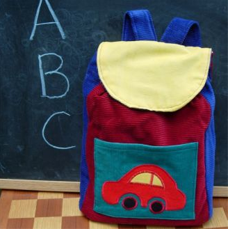 Back-to-School: Vintage-fabric Backpack