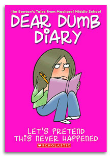 Dear Dumb Diary Books: are they age-appropriate?