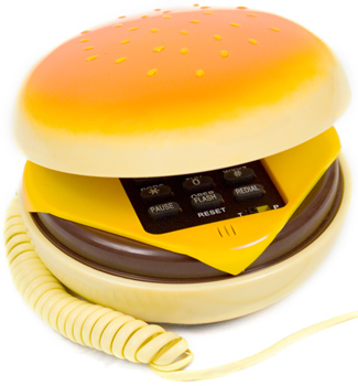 Blast from the Past Week: The Cheeseburger Phone