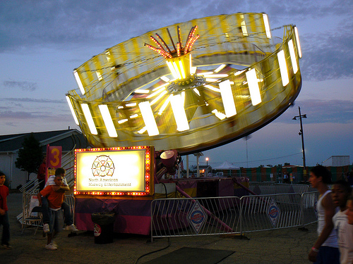 county fair spinning ride