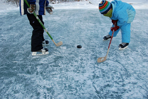 Make your own Ice Skating Rink