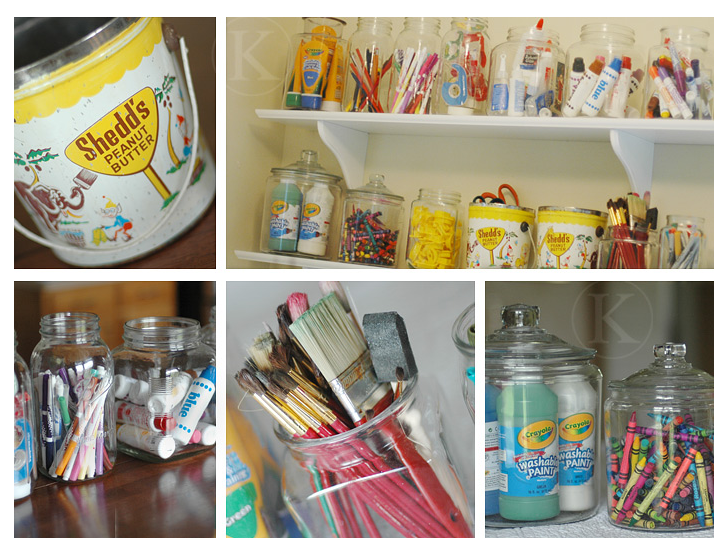 Organize your Art Supplies