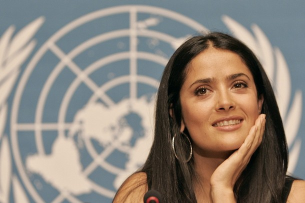 Salma Hayek Interview