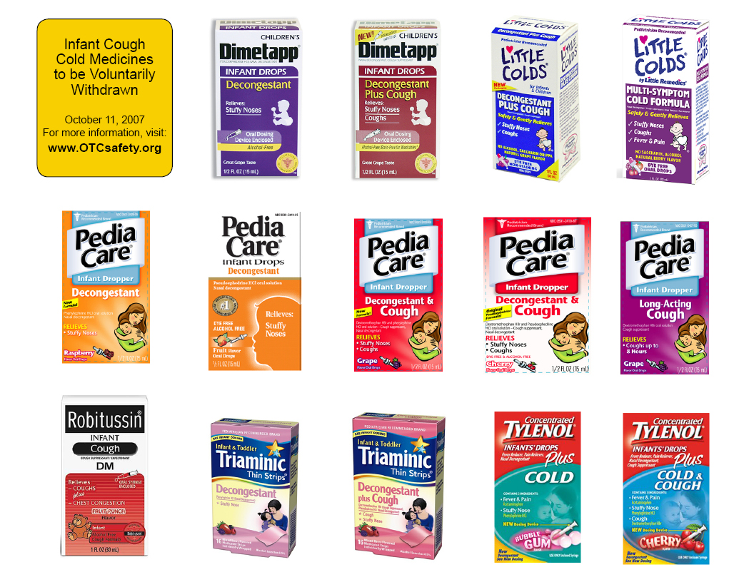 Recall of Infant Cough and Cold Medicines