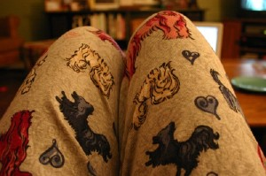 Puppy pajamas were not on my wish list.