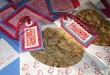 Valentine cookie package