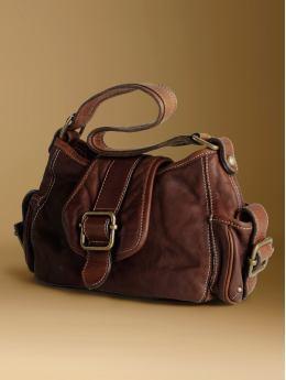 A small brown handbag