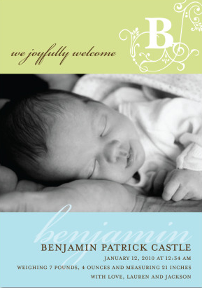 Birth Announcement Etiquette