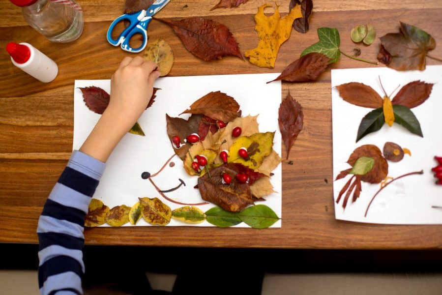 Simple Fall Leaf Crafts For Kids