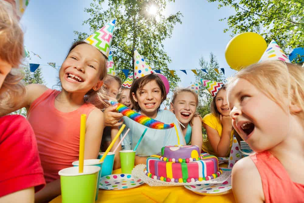 outdoor kids birthday party