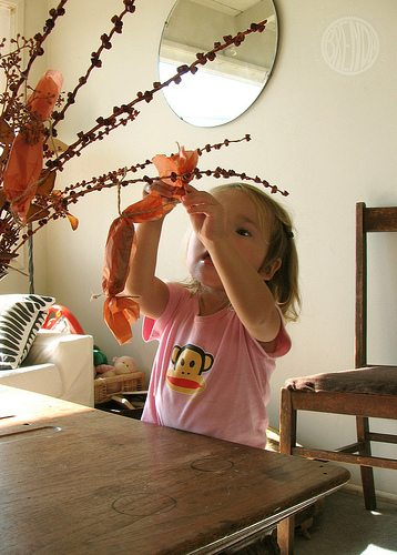 Repurposing Your Leftover Halloween Candy (Harvest Tree with Candy) by Brendy Ponnay for Alphamom.com