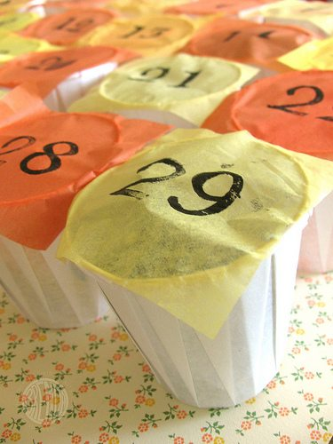 Repurposing Your Leftover Halloween Candy (candy calendar) by Brendy Ponnay for Alphamom.com
