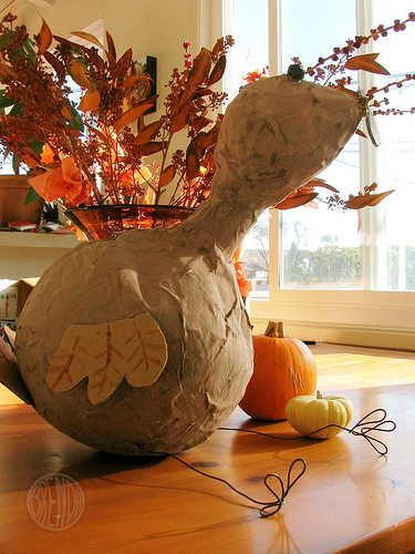 Repurposing Leftover Halloween Candy ( Turkey Piñata) by Brenda Ponnay for Alphamom.com