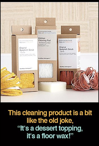 Kitchen Cleaning Pad Spaghetti Scrubs